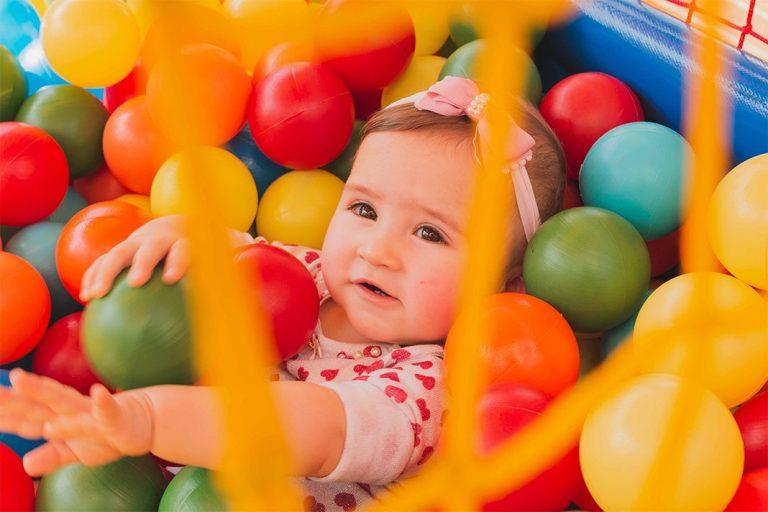 O que faz um bebê de 6 meses