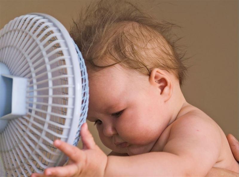 bebes sentem mudança na temperatura