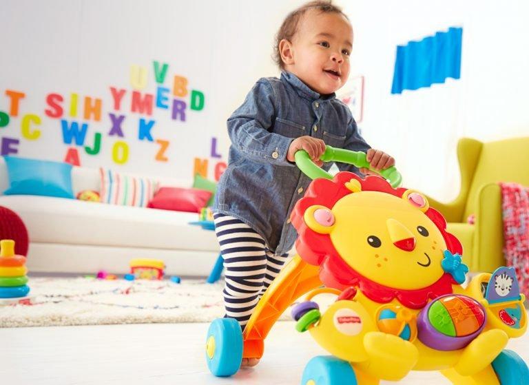 Melhores brinquedos para bebês de 12 a 18 meses